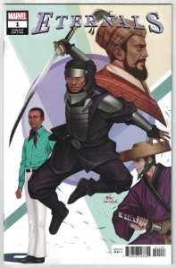 Eternals #1 1:25 Inhyuk Lee Variant Marvel 2021 Kieron Gillen Esad Ribic VF/NM