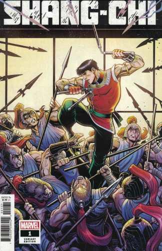 Shang-Chi #1 1:50 Art Adams Variant Marvel 2020