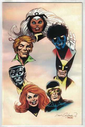 Giant-Size X-Men Tribute to Wein & Cockrum #1 1:100 Cockrum Virgin Variant VF/NM