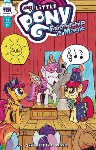 My Little Pony #93 1:10 Konrad Kachel Variant IDW 2012
