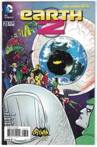 Earth 2 #23 1:25 Mike Allred Batman 66 Variant DC New 52 Tom Taylor VF/NM