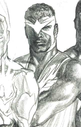 Captain America #24 1:100 Alex Ross Timeless Virgin Sketch Variant 2020 Falcon
