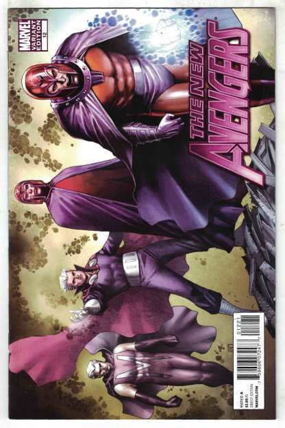 New Avengers #12 1:20 Koi Pham X-Men Evolutions Variant Marvel 2010 VF/NM