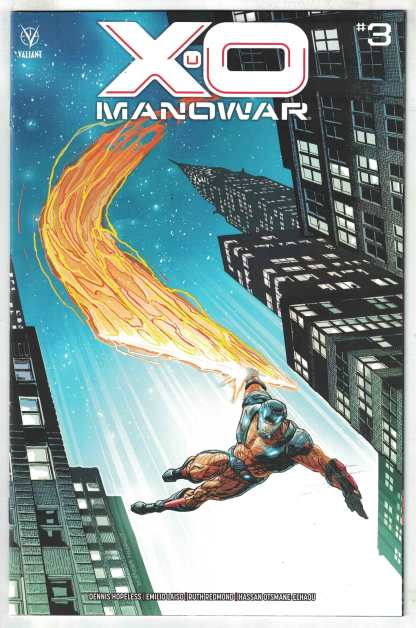 X-O Manowar #3 1:25 Doug Braithwaite Variant Valiant 2020 VF/NM