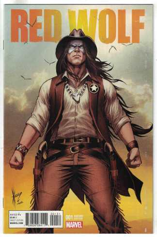 Red Wolf #1 1:25 Dale Keown Variant Marvel ANAD 2015 1872 VF/NM