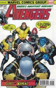 Avengers #24.NOW Carlos Barberi Homage Variant Marvel 2013 Jonathan Hickman