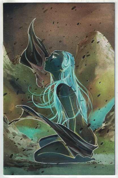 Cimmerian Frost-Giants Daughter #1 1:30 Momoko Negative Variant Ablaze VF/NM