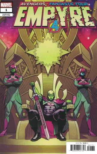 Empyre #1 1:50 Jamie McKelvie Variant Marvel 2020 Hulkling