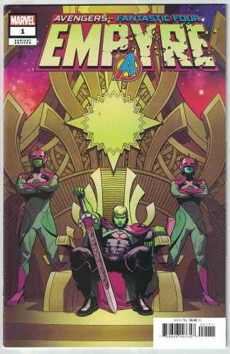 Empyre #1 1:50 Jamie McKelvie Variant Marvel 2020 Hulkling VF/NM