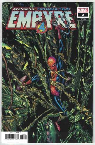 Empyre #2 Humberto Ramos Secret One-Per-Store Variant Marvel 2020 VF/NM