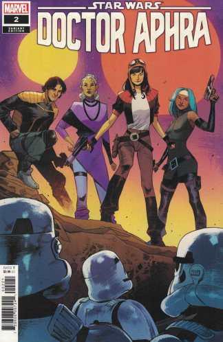 Star Wars Doctor Aphra #2 1:25 Sara Pichelli Variant Marvel 2020