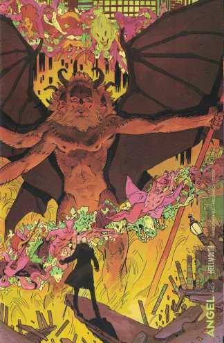 Angel #7 1:20 Morgan Beem Variant BOOM 2019 Hellmouth Buffy