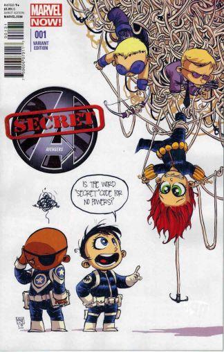 Secret Avengers #1 Skottie Young Marvel Babies Variant 2013