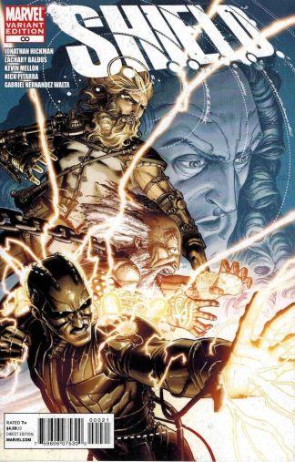 Shield #Infinity Dustin Weaver Variant Marvel 2011