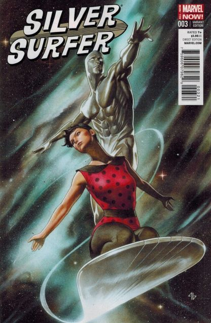 Silver Surfer #3 Adi Granov 1:25 Variant Cover All New Marvel Now