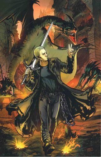 Spike: After The Fall #2 Frank Urru Virgin Art Variant Buffy