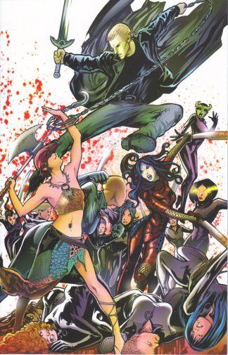 Spike: After the Fall #4 Franco Urru Virgin Art Variant Buffy the Vampire Slayer