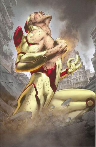 Stan Lee's Soldier Zero #3 Trevor Hairsine Virgin Art Variant