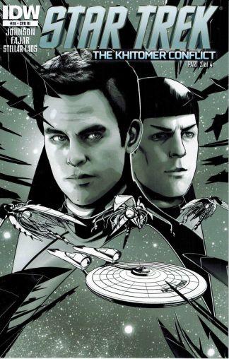 Star Trek #26 Black and White Erfan Fajar Variant