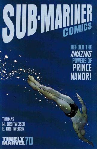Sub-Mariner Comics #1 Timely Comics Variant