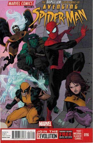 Superior Adventures of Avenging Spider-Man 16 X-Men