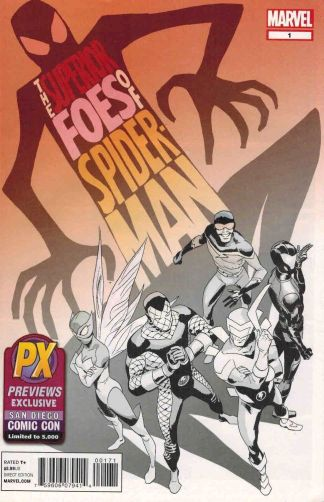 Superior Foes of Spider-Man #1 SDCC Exclusive Variant