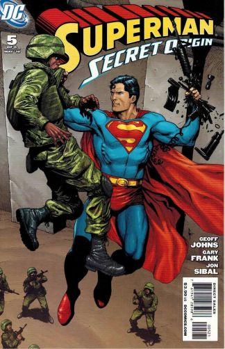 Superman: Secret Origin #5 Gary Frank Variant Geoff Johns