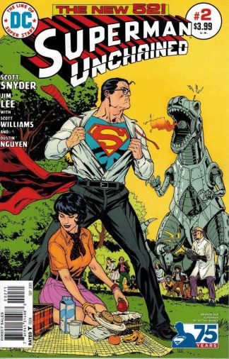 Superman Unchained #2 Victor Ibanez Bronze Age Variant