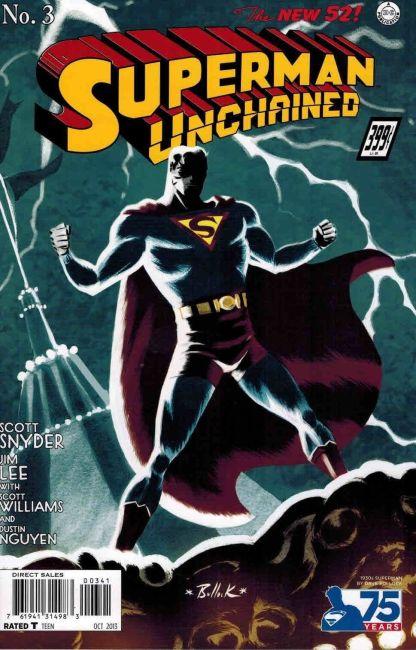 Superman Unchained #3 1:100 Dave Bullock 1930's Variant Jim Lee Scott Snyder