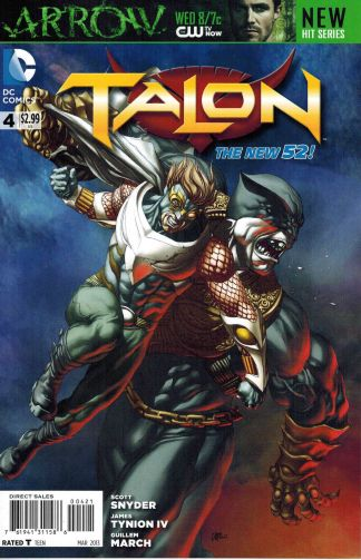 Talon #4 Mike Choi Variant