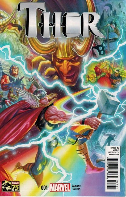 Thor #1 Alex Ross 1:75 Variant