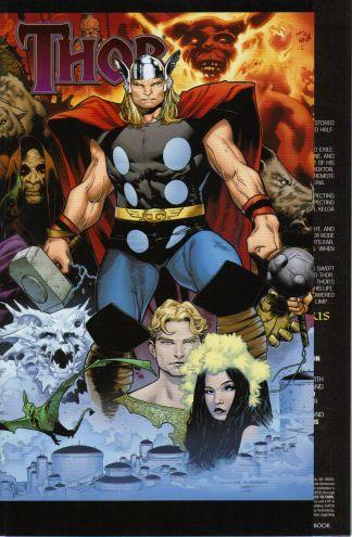 Thor #604 1:15 Olivier Coipel Gatefold Variant Marvel 2007