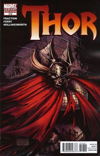 Thor #616 Ryan Stegman Vampire Variant Matt Fraction Pasqual Ferry