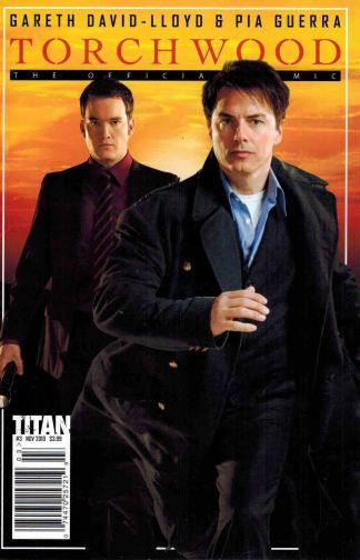 Torchwood: The Official Comic #3 Photo Variant Pia Guerra Doctor Who