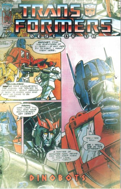 Transformers: Best of the UK - Dinobots #3 Retro Variant