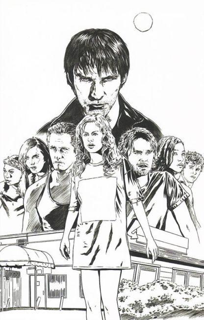 True Blood #5 Joe Corroney Sketch Variant