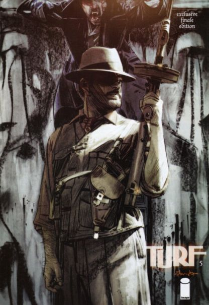 Turf #5 Ultimate Comics / Forbidden Comics Variant Jonathan Ross Edwards