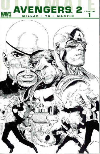 Ultimate Avengers 2 #1 Leinil Yu Sketch Variant