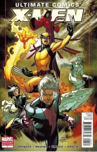 Ultimate Comics X-Men #1 Paco Medina Variant