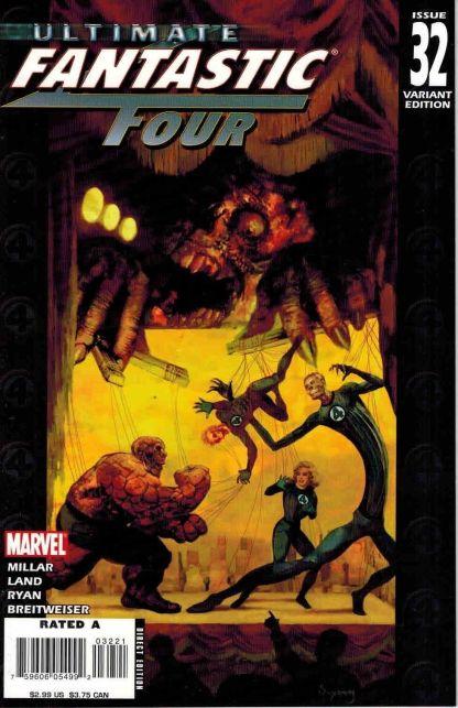 Ultimate Fantastic Four #32 Arthur Suydam Zombie Variant