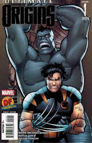 Ultimate Origins #1 Howard Chaykin Wolverine Hulk Dynamic Forces Variant Marvel
