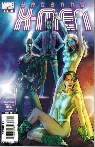 Uncanny X-Men #512 Stephane Roux 1980's Variant