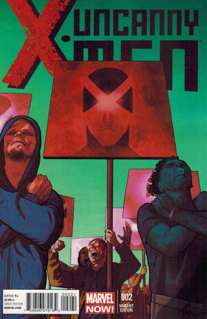 Uncanny X-Men #2 1:50 Frazier Irving Variant Marvel NOW 2013