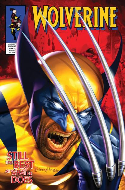 Wolverine #1 Ultimate Comics Exclusive 2000 Copy Greg Horn Variant 2020 DX