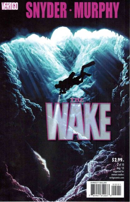 Wake #2 Adam Kubert Variant Scott Snyder Sean Murphy