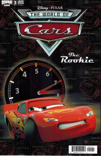 World of Cars #2: The Rookie C Photo Cover Variant