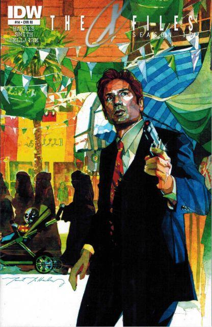 X-Files Season 10 #14 1:10 Retailer Incentive Variant RI