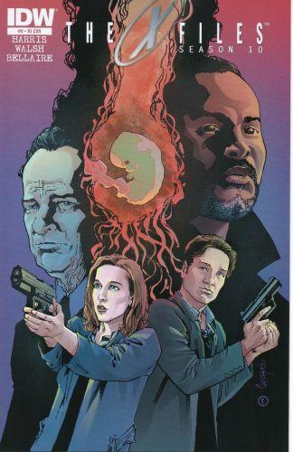 X-Files: Season 10 #8 Retailer Incentive Variant