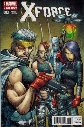 X-Force #3 All New Marvel Now 1:50 John Romia Jr, Variant