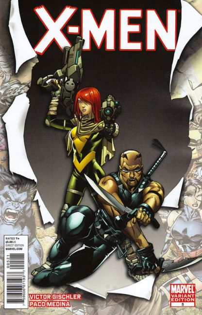 X-Men #5 Paco Medina I am an X-Man Variant Blade Hope 2010